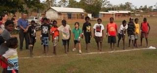 Running has taken off in indigenous communities